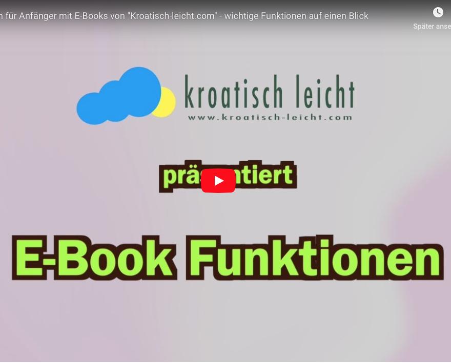 E-Book Funktionen mit Kroatisch-leicht, © Alle Rechte vorbehalten, www.kroatisch-leicht.com